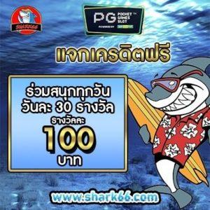 เครดิตฟรี pgslot shark66