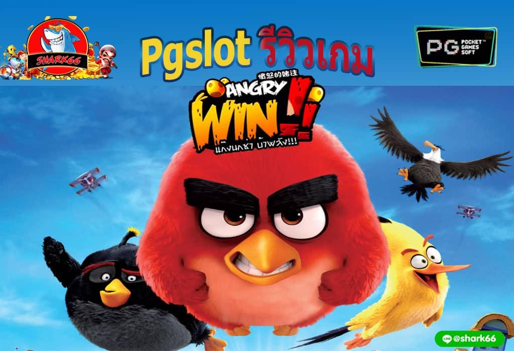 รีวิวเกม ANGRY WIN เกมสล็อตค่าย Pgslot